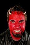 Uomo del diavolo Fotografie Stock