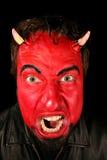 Uomo del diavolo Fotografie Stock Libere da Diritti