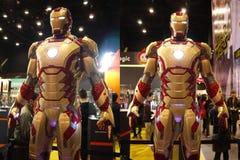 Uomo del ferro nell'uomo 3 del ferro Fotografia Stock Libera da Diritti