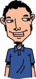 Uomo del fumetto Immagini Stock