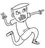 Uomo del fumetto Immagine Stock Libera da Diritti