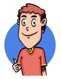 Uomo del fumetto Immagini Stock Libere da Diritti