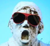 Uomo del ghiaccio Fotografia Stock