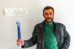 Uomo 02 del giovane operaio fotografia stock libera da diritti