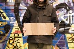 Uomo del Hobo Fotografie Stock