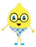 Uomo del limone Fotografia Stock Libera da Diritti