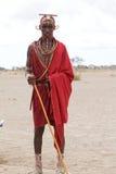 Uomo del Masai Fotografia Stock Libera da Diritti