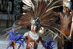 Uomo del Maya Immagini Stock