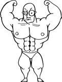 Uomo del muscolo Fotografie Stock Libere da Diritti