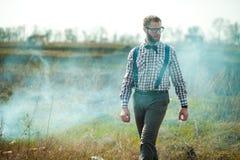 Uomo del nerd dell'agricoltore del Sud Immagine Stock Libera da Diritti