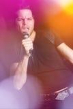 Uomo del pop star Immagini Stock Libere da Diritti