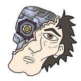 Uomo del robot Fotografia Stock