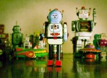 Uomo del robot Fotografie Stock Libere da Diritti