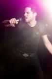 Uomo del rock star Fotografia Stock Libera da Diritti