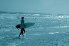 Uomo del surfista Fotografia Stock