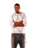 Uomo dell'afroamericano immagine stock