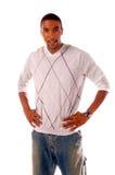 Uomo dell'afroamericano Immagini Stock