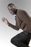 Uomo dell'afroamericano Immagini Stock Libere da Diritti