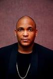 Uomo dell'afroamericano Fotografia Stock
