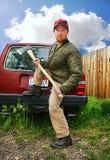 Uomo dell'agricoltore del Sud Immagine Stock
