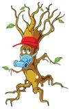 Uomo dell'albero Immagini Stock