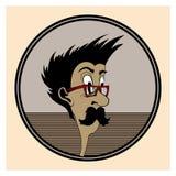 Uomo dell'icona Fotografia Stock