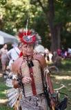 Uomo dell'indiano del nativo americano Fotografia Stock