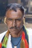 Uomo dell'indiano del ritratto Pushkar, India Fotografia Stock Libera da Diritti