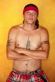 Uomo dell'nativo americano Fotografia Stock
