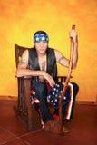 Uomo dell'nativo americano Fotografie Stock Libere da Diritti