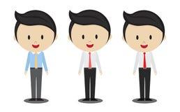 Uomo dell'ufficio di sorriso Immagini Stock