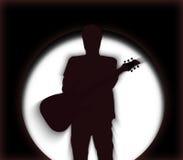 Uomo della chitarra Immagini Stock