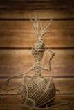 Uomo della corda Fotografia Stock