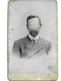 Uomo della foto dell'annata Fotografie Stock Libere da Diritti