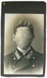 Uomo della foto dell'annata Fotografia Stock