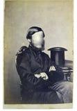 Uomo della foto dell'annata Fotografie Stock