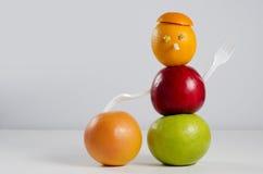 Uomo della frutta Fotografie Stock Libere da Diritti
