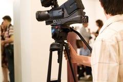 Uomo della macchina fotografica Immagine Stock Libera da Diritti
