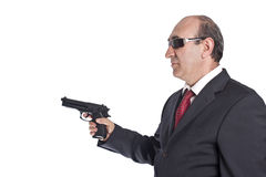 Uomo della mafia Immagini Stock Libere da Diritti