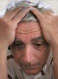 Uomo depresso Immagini Stock Libere da Diritti