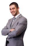 Uomo di affari Fotografie Stock Libere da Diritti