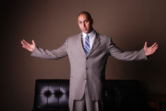 Uomo di affari. Fotografie Stock