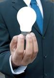 Uomo di affari con l'idea Immagini Stock Libere da Diritti