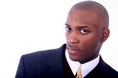 Uomo di affari dell'afroamericano fotografia stock
