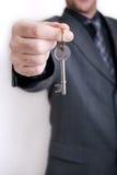 Uomo di affari dell'agente immobiliare Fotografie Stock