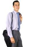 Uomo di affari di Smilling Fotografia Stock