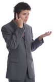 Uomo di affari (le serie) Fotografia Stock Libera da Diritti