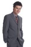 Uomo di affari (le serie) Fotografia Stock
