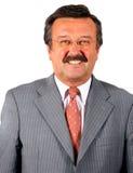 Uomo di affari nel suo 60S Fotografie Stock