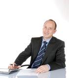 Uomo di affari V Fotografia Stock
